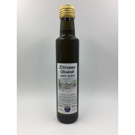 Zitronen-Olivenoel nativ extra kalt gepresst