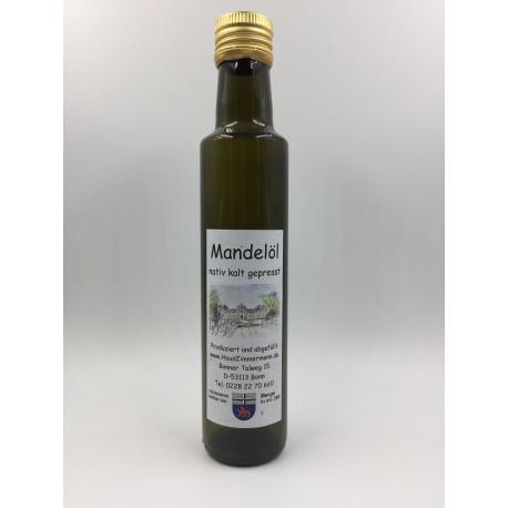250ml Mandeloel kalt gepresst nativ