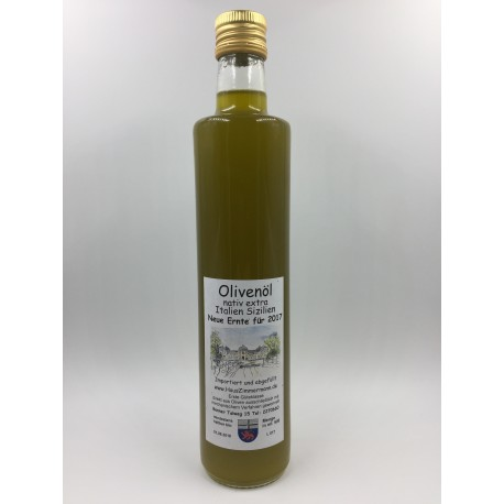 Italien-Sizilien 500ml Olivenöl nativ extra