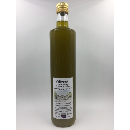 Italien-Sizilien 750ml Olivenöl nativ extra
