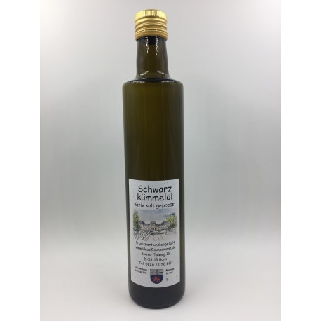 500ml Schwarzkümmelöl nativ kalt gepresst