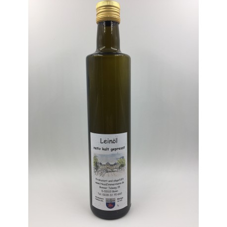 500ml Leinoel kalt gepresst nativ